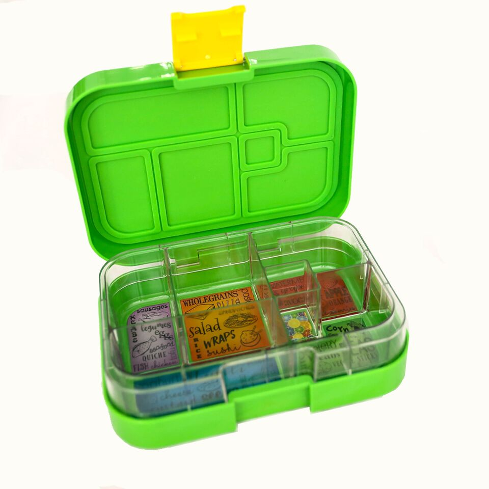 Munch Box Maxi6 Green Jungle lunch box