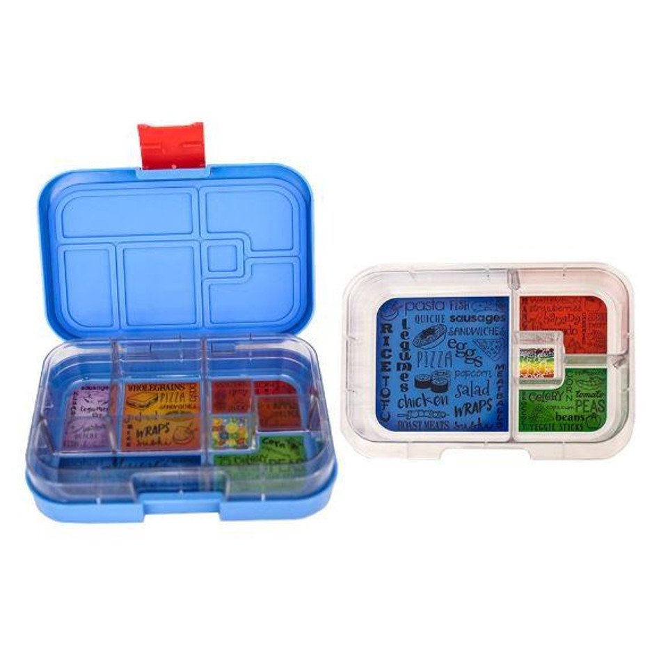 Munch Box Mix and Match Blue Hero lunch box