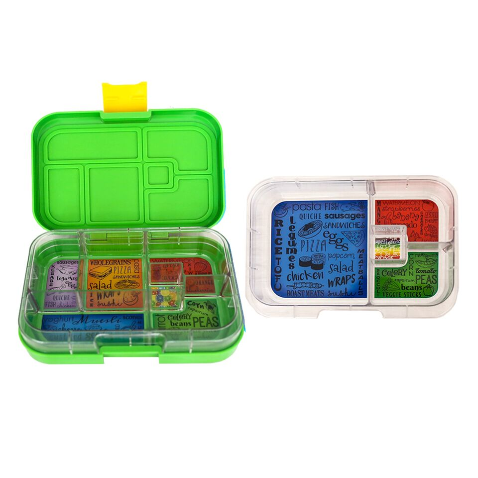 Munch Box Mix and Match Green Jungle lunch box
