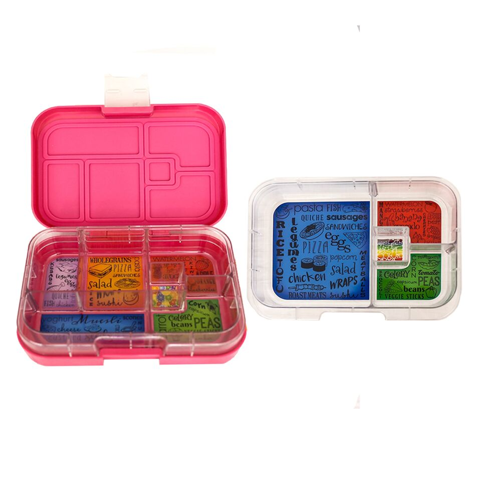 Munch Box Mix and Match Pink Princess lunch box