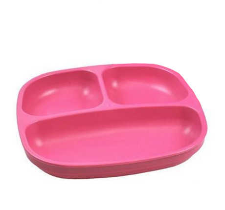 Replay Bright Pink Divided Plate